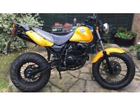 125cc On road off-road endurance motorbike