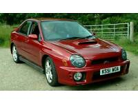 Subaru Impreza WRX very low miles@ 55k fsh 281bhp. Exhaust/Handling mods.