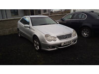 2004 Mercedes C200 CDi Coupe, MoT Jan 2018