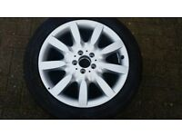 Mercedes S Class 18 inch 9 spoke alloy wheel brand new never used