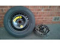 Ford C-Max space saver tyre