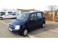2004 vauxhall agila, 1.0 litre engine, 8 months mot, minivan if you wish, £500 may swap why try me
