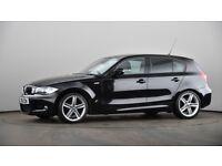 BMW 1 SERIES 2.0 118i M Sport Hatchback 3dr Petrol Manual (143 g/km, 143 bhp) (black) 2011