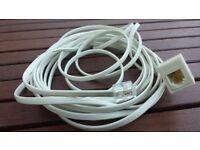 5m Telephone Extension Cable RJ11 (Borehamwood, Hertfordshire)