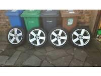 "18"" VW Audi Seat Skoda alloy wheels"