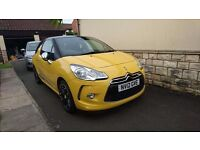 Citroen DS3 HATCHBACK 3-DOOR 1.6 e-HDi 110bhp DSport Plus Airdream 3dr. 10 Months MOT, £0 tax