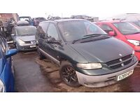 2000 CHRYSLER VOYAGER LE, 2.5 TD, BREAKING FOR PARTS ONLY, POSTAGE AVAILABLE NATIONWIDE
