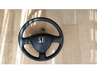 HONDA CIVIC BREAKING VTEC STEERING WHEEL AIRBAG REAR FACELIFT LIGHTS AIR INTAKE STEREO 6X9 SPEAKERS