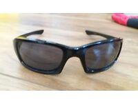 Genuine Oakley fives squared sunglasses