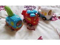 vtech toot toot car bundle 5