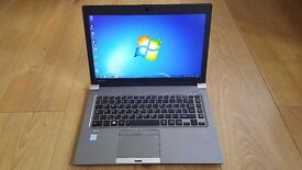 "Like New Toshiba Tecra Z40-C-105 14"" Lightweight Intel Core i5-6200U 4GB RAM 128GB SSD"