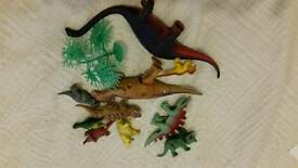 Kids toy play dinosaurs vgc