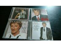 ROD STEWART..THE GREAT AMERICAN SONGBOOK.4 CDS..NEW UNPLAYED.