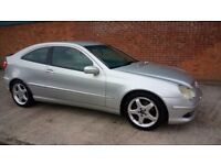 Spares or repairs mercedes c200 coupe
