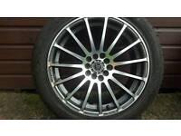 Wolfrace 17Inch Alloys Wheels
