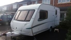 Abbey adventura 315 2 berth 2006 with motor mover and 2 awnings