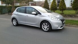 peugeot 208 active 1.0 petrol 5 door hatch only 26000 miles with service history