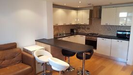 Modern and clean 2 bedroom flat with off street parking space