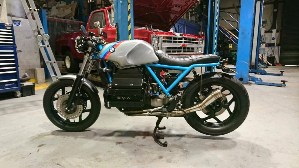 Custom Bmw K100 Brat Scrambler Cafe Racer Px Swap Vw Transporter