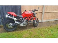 Ducati Monster 696 , Termignoni exhaust
