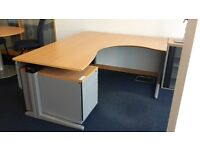 beautiful corner desk