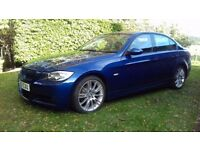 BMW 318i M Sport E90 Saloon 2007 Le Mans Blue in good condition. Good honest car.