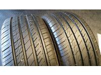 215 50 17 2 x tyres Constancy LY566