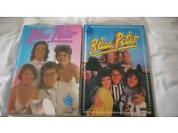 2 Blue Peter Annuals dated 1987 and 1988