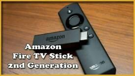 Amazone FIre Tv Stick 2nd Gen