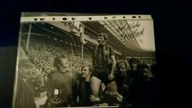 Man City legend Tony Book 12x8 hand signed City photo with Coa