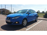 SEAT IBIZA ECOMOTIVE TDI HPI CLEAR NEW MOT FREE ROAD TAX LOW MILAGE
