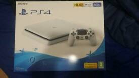 ***sealed***BRAND NEW PS4 white