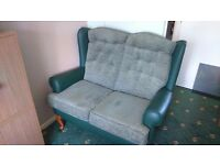 Cottage style 2 seater settee