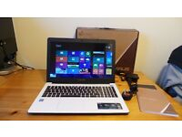 "Asus X502C 15.6"" Slim Screen Multimedia Laptop Intel Dual Core 1007U, 4GB RAM, 500GB HDD Windows 8"