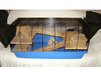 Alexander LARGE hamster / small animal cage + accessories