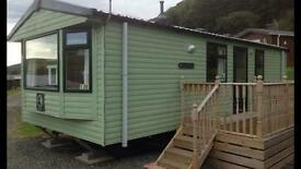 Caravan hire at Clarach bay from £7.50 per person per night (if 6 people booking)