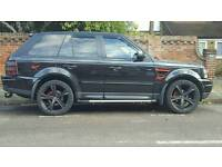 """Range Rover Sport 22"""" Alloys and Tyres"""
