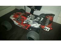 Tomahawk rc nitro car used once