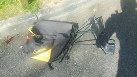 Pannier rack and luggage bag