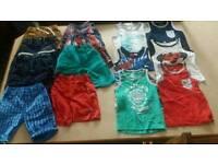Boys summers cloths 2-3yrs