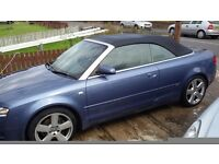 Audi A4 cab 2.00 tfsi S-line CHEAP NEED GONE
