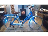 Ladies bike-Pendleton Somerby - Blue,Reduced price