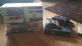 xbox 360 320gb with 40 games