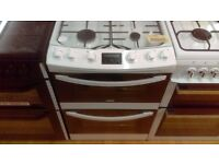 ZANUSSI 60Cm Gas Cooker in Ex Display which may have minor marks or blemishes.