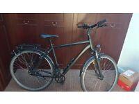 Bike Cube Town 2016 54cm Black