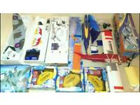 R/C Model planes, Jet, Glider, TX RX Servos- Job Lot - Electric, used for sale  Stirling
