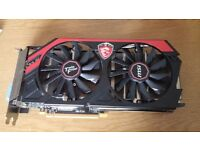 EXCELLENT 1440P Capable MSI GTX 760 Twin Frozr Edition Graphics Card BOXED,RRP £200+, £100 NO OFFERS