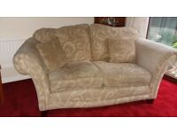 2-seater settee beige