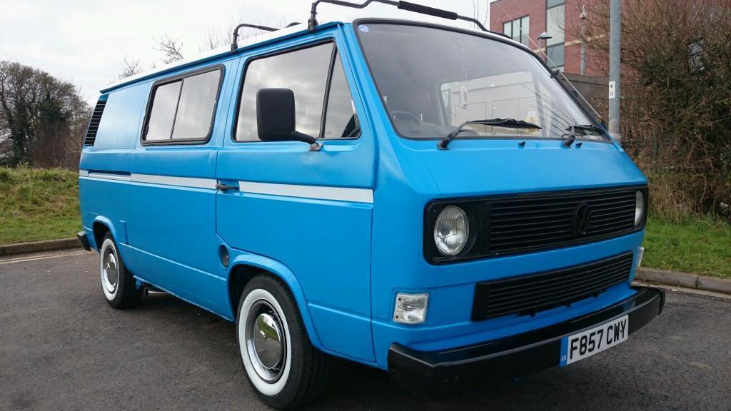 Vw T25 Transporter T3 Day Van Surf Van 2 3 V6
