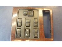 2001 LAND ROVER RANGE ROVER P38 ELECTRIC WINDOW MIRROR CENTRAL LOCK SWITCHBOARD LTN £40